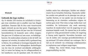 In zeer ingeperkte vorm publiceerde het NRC Handelsblad een stuk waarin de voorzitter van de Jonge Democraten en ik uitleggen waarom wiet kweken in lege stallen op het platteland een zeer goed idee is. Het uitgebreide artikel is hier te lezen: http://jongedemocraten.nl/jdmedia/persberichten/5157-lege-stallen-legaal-wiet-legio-kansen.html